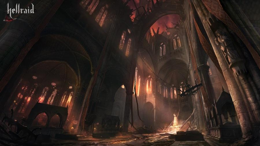 20-минутный геймплей Hellraid-3