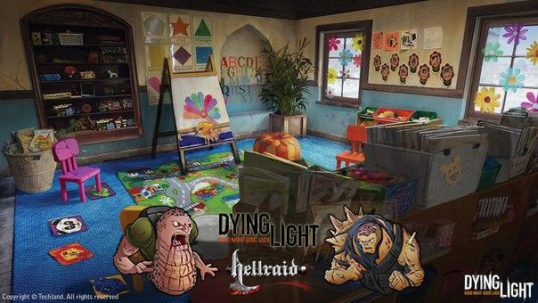 Концепт арты Dying Light от Вальдека Каминского-17