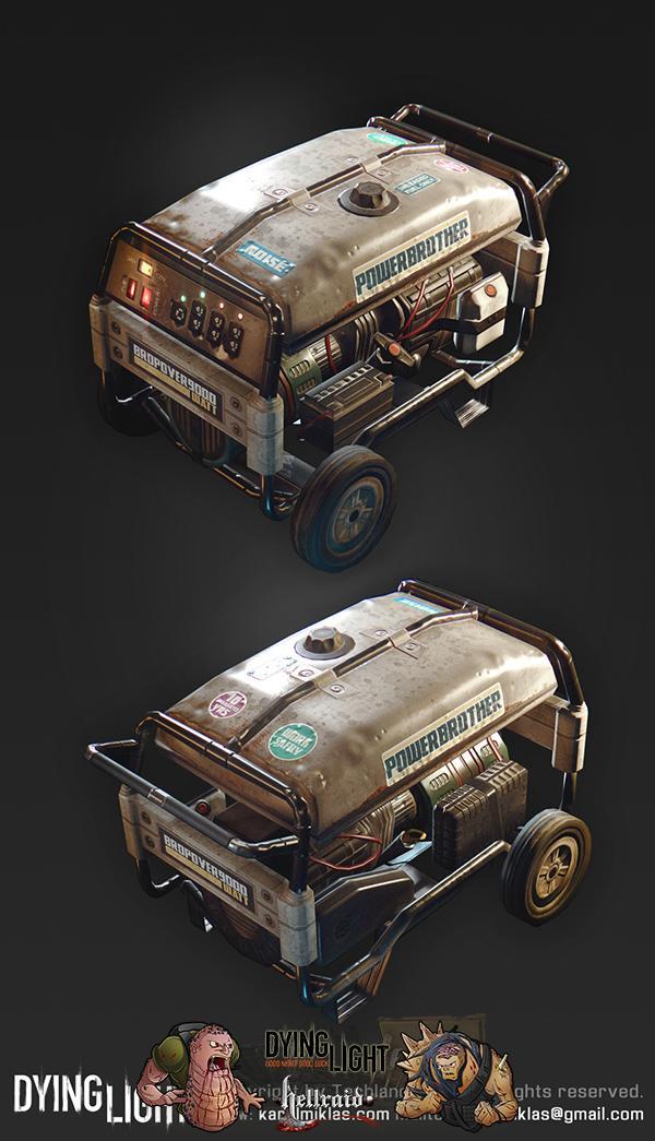 Dying Light 3D Art - взгляд на один из автомобилей изнутри-9