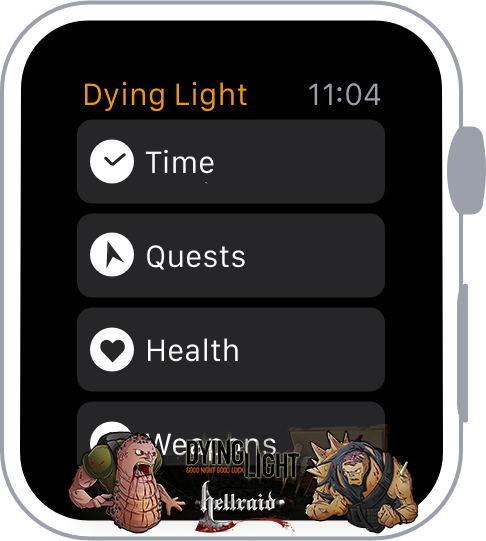Концепт Apple Watch с прошивкой Dying Light-2