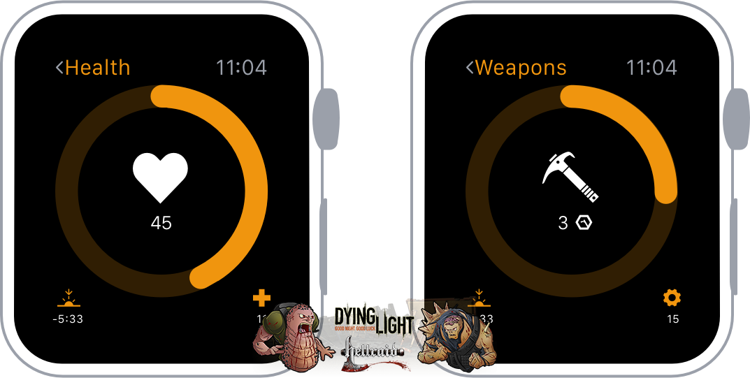 Концепт Apple Watch с прошивкой Dying Light-5