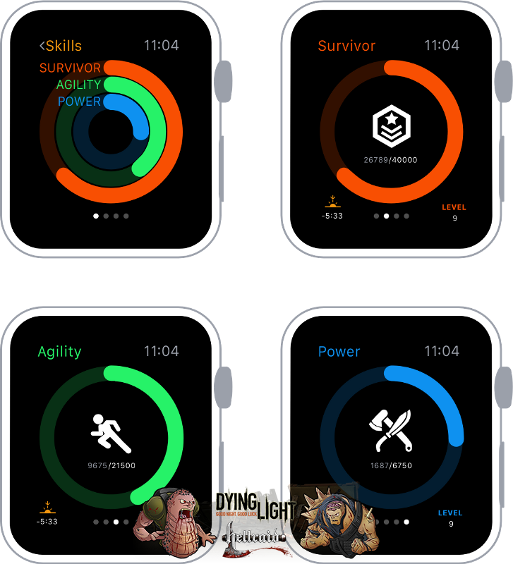 Концепт Apple Watch с прошивкой Dying Light-6