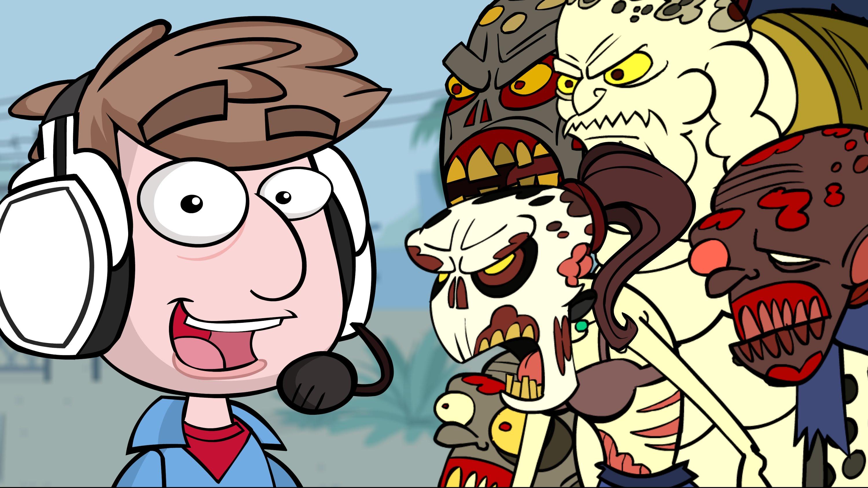 Фан-арт анимация Dying Light от ZackScottGames