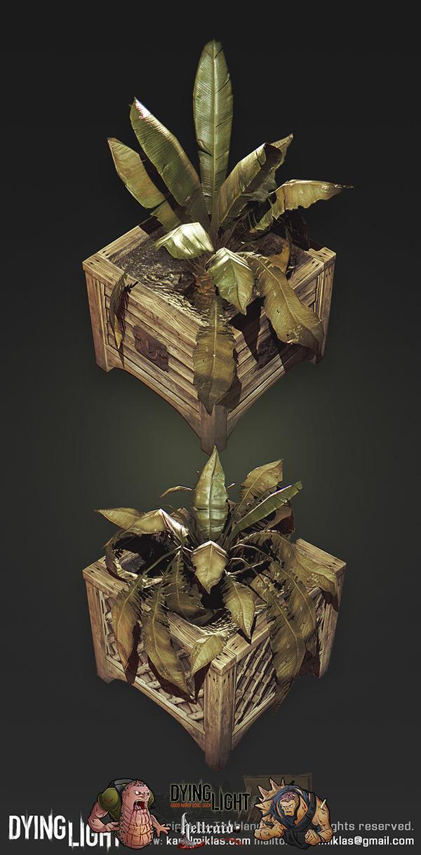 Dying Light 3D Art - взгляд на один из автомобилей изнутри-12