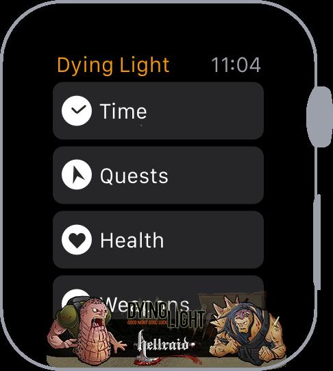 Концепт Apple Watch с прошивкой Dying Light-2
