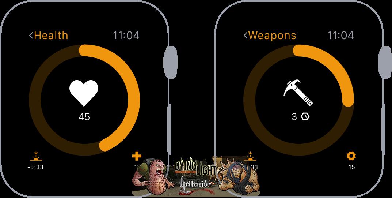 Концепт Apple Watch с прошивкой Dying Light-5